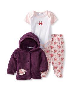 47% OFF Rumble Tumble Baby 3-Piece Jacket Set (Burgundy) #apparel #Kids