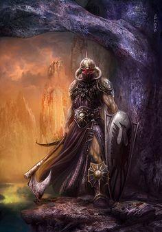 Jan Patrik Krasny - sci-fi and fantasy book covers gallery Fantasy Male, Fantasy Warrior, Dark Fantasy Art, Dark Art, Fantasy Figures, Fantasy Characters, Special Characters, Fantasy Paintings, Fantasy Artwork