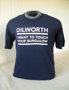 "Dilworth, Charlotte is known for its historic bungalows.  This shirt ""nails it,"" as Dilworth is one of Charlotte's MOST DESIRABLE NEIGHBORHOODS."