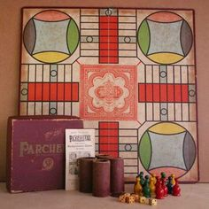 Parcheesi Game, $24, now featured on Fab.