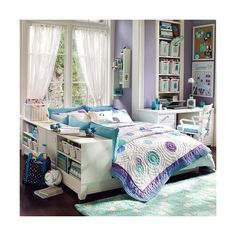 pbteen | Tumblr ❤ liked on Polyvore featuring rooms, house, bedrooms and interior