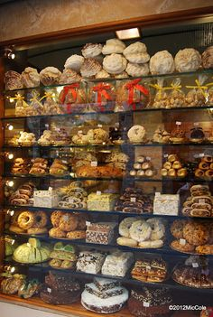 Dolce, a Bakery Shop in Italy