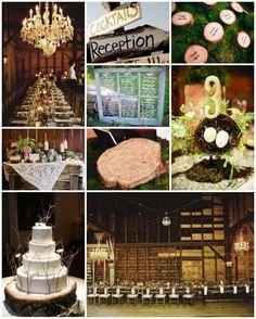 Rustic Wedding - Reception