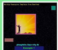 free worship powerpoint backgrounds. powerpoint templates 135124, Modern powerpoint