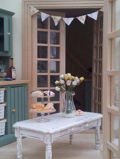 Vintage style conservatory decorations