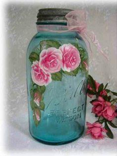 Paint a jar