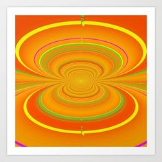 ASTRO Art Print by lucborell - $24.50