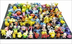 1 SET PER LOTS 144PCS POKEMON ACTION FIGURES 2-3CM BY @CNFT $19.00 http://www.amazon.com/gp/product/B00DUFMC9O?ie=UTF8&camp=1789&creativeASIN=B00DUFMC9O&linkCode=xm2&tag=coloredsandz-20