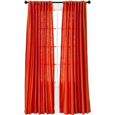 Threshold Natural Core Solid Curtain Panel (€22) ❤ liked on Polyvore featuring home, home decor, window treatments, curtains, sheer drapery panels, woven curtains, sheer window treatments, sheer window panels and woven shades