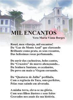 """Vera Maria Viana Borges: MIL ENCANTOS     ( Do Livro """"TRILHAS POÉTICAS"""")"""