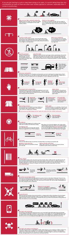 Cycling safety tips segurança para várias situações que o ciclista enfrenta no dia a dia