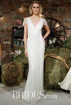 Brides: Jenny Packham - Spring 2017. Wedding dress by Jenny Packham