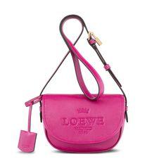 Loewe - bolso satchel 22 heritage magenta - Bolsos Mujer