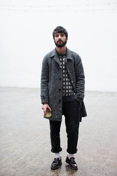 Style Inspiration for Men! #WORMLAND Men's Fashion #COAT