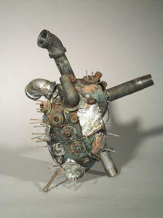 Heart ,sculpture  http://www.pinterest.com/frannyg/hearts-bones/