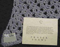 Prayer Shawls - How to st art a prayer shawl ministry Crochet Quilt, Knit Or Crochet, Crochet Shawl, Yarn Crafts, Sewing Crafts, Knitting Projects, Crochet Projects, Prayer Shawl Patterns, Crochet Prayer Shawls