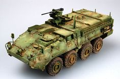 Stryker ICV by Guo Shuang (Trumpeter 1/35)