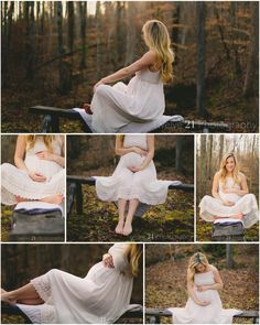 Outdoor Fairytale Maternity Photos twelve21photo.com