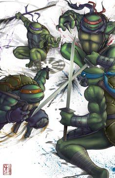 Turtle Power by Anii-Ki.deviantart.com on @deviantART