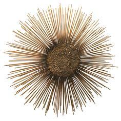 $1900 1stdibs - Brutalist sunburst sculpture explore items from 1,700  global dealers at 1stdibs.com