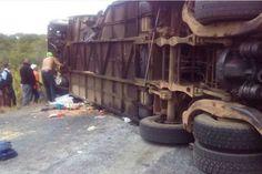 10 muertos en accidente de tránsito en Bolívar