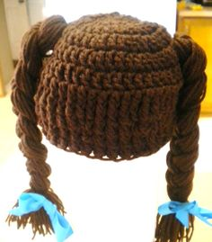 Cabbage Patch Dorothy of Oz inspired wig by BONNIESBEACHBEANIES, $15.00
