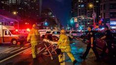 Image copyright                  AP Image caption                                      Las autoridades elevaron la cifra de heridos de 25 a 29, de los cuales uno es de gravedad.                                Una explosión ocurrida hacia las 8:30 de la noche del sábado en Chelsea, una concurrida área de Manhattan, dejó heridas a 29 personas, informó el Departamento de Bomberos de Nueva York. Las autoridades dijeron en una rueda de prensa