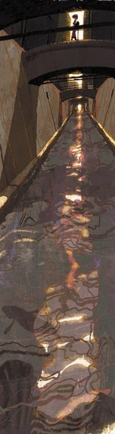 Tadahiro Uesugi. Wonderful modern Art. Lighting is perfect.