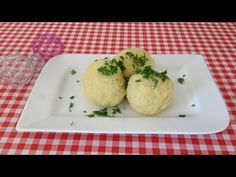 How to make real fluffy Bavarian potatoe dumplings-- TOP RECIPE (with subs) Top Recipes, Snack Recipes, Cooking Recipes, Healthy Recipes, Snacks, Czech Recipes, Ethnic Recipes, Workout Programs, Mashed Potatoes