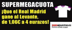 el forero jrvm y todos los bonos de deportes: marca apuestas Supermegacuota Real Madrid gana Lev...