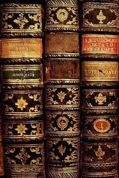 Books: beautiful bindings