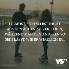 Love is not losing sight of oneself while leaving the other one as he really is The post Love is not losing sight of oneself while leaving the other one as he really is appeared first on Woman Casual - Life Quotes English Love Quotes, German Quotes, Words Quotes, Me Quotes, Sayings, German Words, Visual Statements, True Words, Writing A Book