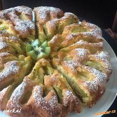 OVOCNÝ KOLÁČ S KIWI - VELMI CHUTNÝ Kiwi, Apple Pie, French Toast, Sweets, Breakfast, Pastries, Recipes, Fine Dining, Morning Coffee