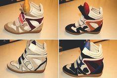 Kinda like these---Sneakers Isabelle Marant