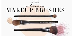 Brush up on your knowledge of the perfect beauty tools to complete your every look. #AvonRep