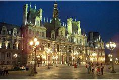 Marie de Paris - Town hall of Paris, France