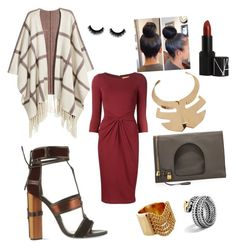 """""""About Last Night www.blevaas.bigcartel.com"""" by blevaasllc on Polyvore featuring Michael Kors, H&M, Tom Ford, Roger Vivier, Chloé, John Hardy and NARS Cosmetics"""