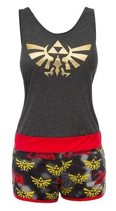 Zelda Tank and Shorts Set