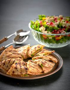 det skal være et avbrekk med sunn mat! Quesadilla, Nom Nom, Bacon, Food And Drink, Chicken, Kos, January 2, Quesadillas, Aries