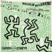Malcolm MacLaren-Would ya like more scratchin (1984). Disque en vinyle collector. Couverture sérigraphiée et embossée. 29 x 29 cm