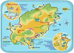 OntheBeach - Ibiza Map