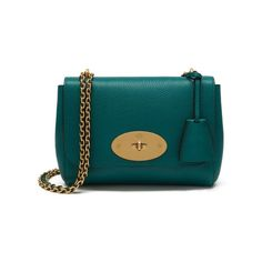 Shop the Lily in Small Classic Grain Leather at Mulberry.com. The Lily is an effortlessly elegant style often chosen as an evening bag due to its versatile size and compact shape. The Lily has a woven leather and chain strap that can be worn short or long, and is finished with signature details such as the postman's lock and leather padlock fob. High End Handbags, Mulberry Bag, Pippa Middleton, Small Crossbody Bag, Cloth Bags, Girls Best Friend, Evening Bags, Luggage Bags, Purses