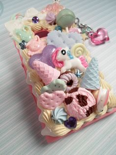 Pastel Heaven My Little Pony Kawaii Decoden Case by Lucifurious, $48.00