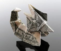 Creative Origami with Dollar Bills by Craig Sonnenfeld | The Design Inspiration