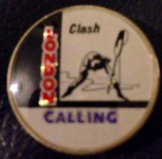 London calling badge