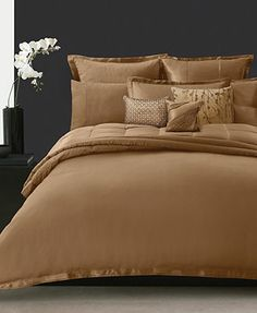 Donna Karan Bedding, Modern Classics Cognac Collection