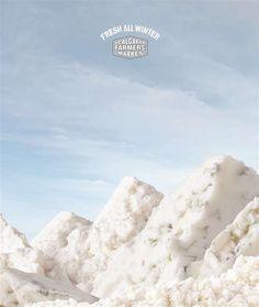 Calgary Farmers Market | #ads #marketing #creative #werbung #print #poster #advertising #campaign < found on www.designtelevision.info pinned by www.BlickeDeeler.de | Follow us on www.facebook.com/blickedeeler