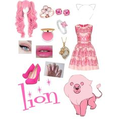 Lion from Steven Ut by zamantha-palazuelos on Polyvore featuring polyvore, fashion, style, RED Valentino, Miss KG, Sterling, Palm Beach Jewelry and Isaac Mizrahi