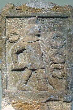 Stele of the gladiator