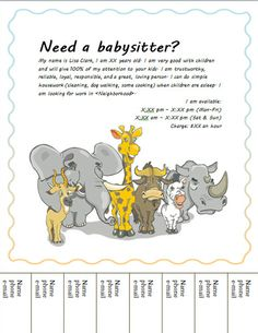 Image on Hloom.com http://www.hloom.com/free-babysitting-flyers-templates-samples-and-ideas/